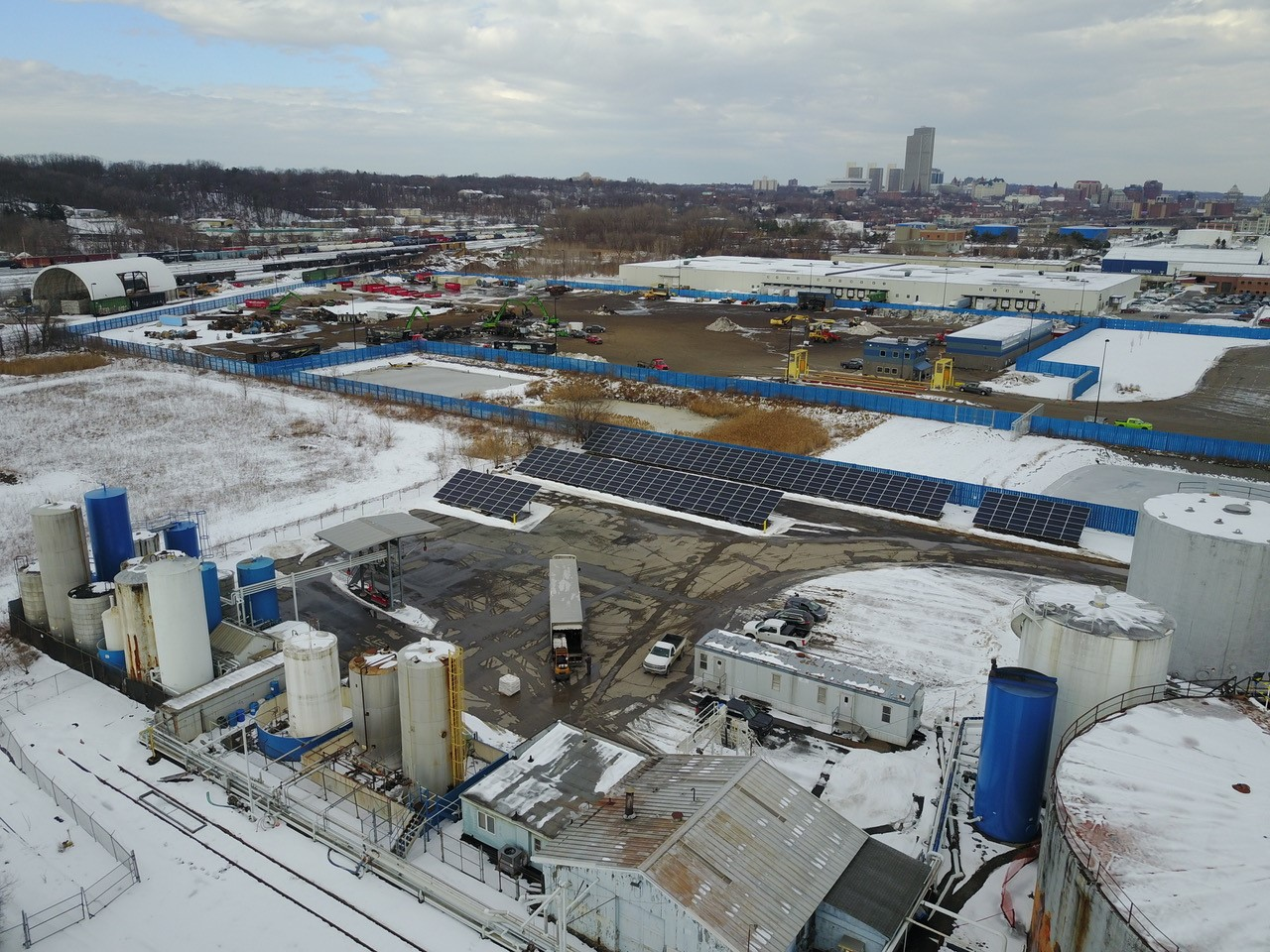 Making Solar History for Westway Feed Products and the Port of Albany