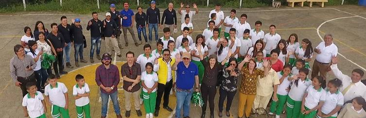 Third school building project announced for Nariño in Colombia